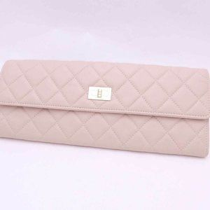 CHANEL Matelasse 2.55 Jewelry Accessory Pouch Ligh